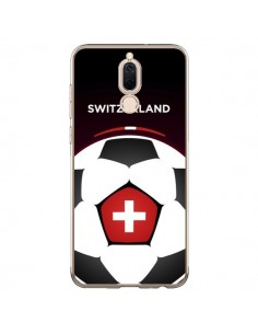 Coque Huawei Mate 10 Lite Suisse Ballon Football - Madotta
