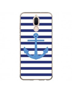 Coque Huawei Mate 10 Lite Ancre Voile Marin Navy Blue - Mary Nesrala