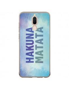 Coque Huawei Mate 10 Lite Hakuna Matata Roi Lion Bleu - Mary Nesrala