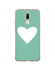 Coque Huawei Mate 10 Lite Coeur Mint Vert - Mary Nesrala