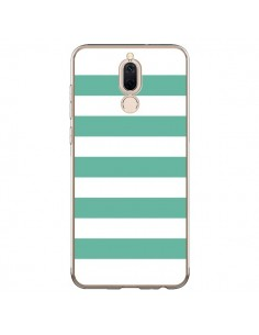 Coque Huawei Mate 10 Lite Bandes Mint Vert - Mary Nesrala