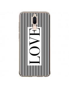 Coque Huawei Mate 10 Lite Love Noir et Blanc - Mary Nesrala