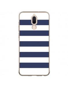 Coque Huawei Mate 10 Lite Bandes Marinières Bleu Blanc Gaultier - Mary Nesrala
