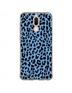 Coque Huawei Mate 10 Lite Leopard Bleu Neon - Mary Nesrala