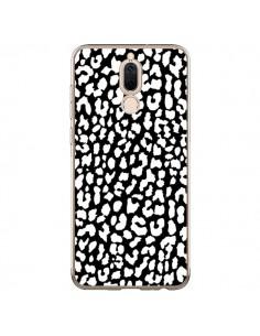 Coque Huawei Mate 10 Lite Leopard Noir et Blanc - Mary Nesrala