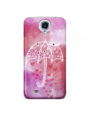 Coque Parapluie Coeur Love Amour pour Samsung Galaxy S4 - Sylvia Cook