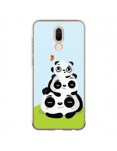Coque Huawei Mate 10 Lite Panda Famille - Maria Jose Da Luz