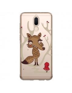 Coque Huawei Mate 10 Lite Le Petit Chaperon Rouge Loup Hello Big Wolf Transparente - Maria Jose Da Luz