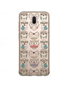 Coque Huawei Mate 10 Lite Chouettes Owl Hibou Transparente - Maria Jose Da Luz