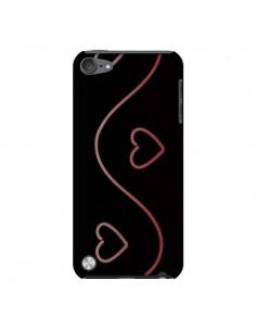 Coque Coeur Love Rouge pour iPod Touch 5 - R Delean