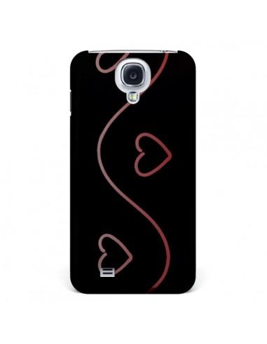 Coque Coeur Love Rouge pour Samsung Galaxy S4 - R Delean