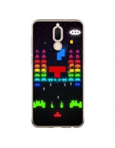 Coque Huawei Mate 10 Lite Invatris Space Invaders Tetris Jeu - Maximilian San