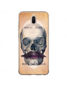 Coque Huawei Mate 10 Lite Rock Skull Tête de Mort - Maximilian San