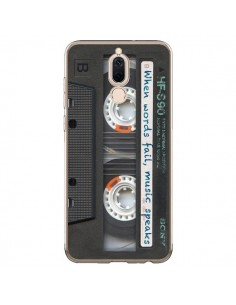 Coque Huawei Mate 10 Lite Cassette Words K7 - Maximilian San