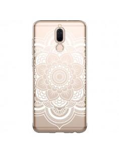 Coque Huawei Mate 10 Lite Mandala Blanc Azteque Transparente - Nico