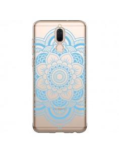 Coque Huawei Mate 10 Lite Mandala Bleu Azteque Transparente - Nico