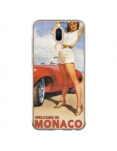 Coque Huawei Mate 10 Lite Welcome to Monaco Vintage Pin Up - Nico