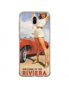 Coque Huawei Mate 10 Lite Welcome to the Riviera Vintage Pin Up - Nico