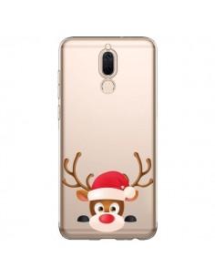 Coque Huawei Mate 10 Lite Renne de Noël transparente - Nico