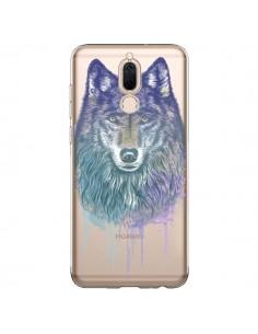Coque Huawei Mate 10 Lite Loup Wolf Animal Transparente - Rachel Caldwell
