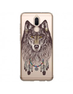 Coque Huawei Mate 10 Lite Loup Wolf Attrape Reves Transparente - Rachel Caldwell