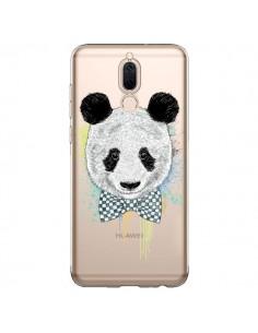 Coque Huawei Mate 10 Lite Panda Noeud Papillon Transparente - Rachel Caldwell