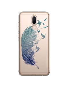 Coque Huawei Mate 10 Lite Plume Feather Fly Away Transparente - Rachel Caldwell