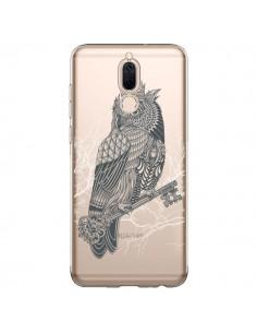 Coque Huawei Mate 10 Lite Owl King Chouette Hibou Roi Transparente - Rachel Caldwell
