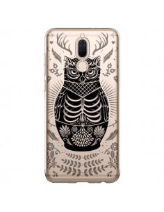 Coque Huawei Mate 10 Lite Owl Chouette Hibou Squelette Transparente - Rachel Caldwell