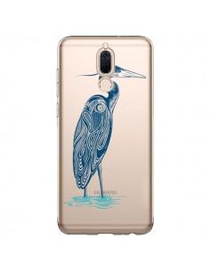 Coque Huawei Mate 10 Lite Heron Blue Oiseau Transparente - Rachel Caldwell