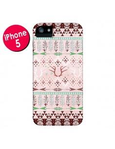 Coque Amadahy Cerf Azteque pour iPhone 5 et 5S - Monica Martinez