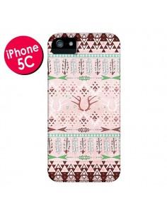 Coque Amadahy Cerf Azteque pour iPhone 5C - Monica Martinez