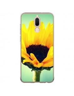 Coque Huawei Mate 10 Lite Tournesol Zoom Fleur - R Delean