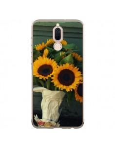 Coque Huawei Mate 10 Lite Tournesol Bouquet Fleur - R Delean