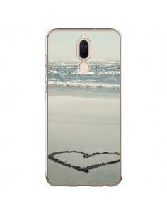 Coque Huawei Mate 10 Lite Coeoeur Plage Beach Mer Sea Love Sable Sand - R Delean