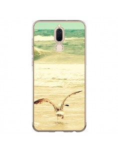 Coque Huawei Mate 10 Lite Mouette Mer Ocean Sable Plage Paysage - R Delean