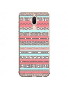 Coque Huawei Mate 10 Lite Azteque Aztec Rose Pastel - Rex Lambo