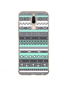 Coque Huawei Mate 10 Lite Azteque Aztec Bleu Pastel - Rex Lambo