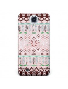 Coque Amadahy Cerf Azteque pour Samsung Galaxy S4 - Monica Martinez