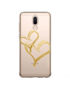 Coque Huawei Mate 10 Lite Deux Coeurs Love Amour Transparente - Sylvia Cook