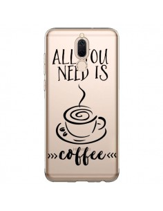 Coque Huawei Mate 10 Lite All you need is coffee Transparente - Sylvia Cook