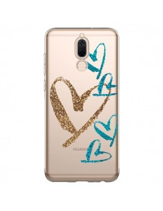 Coque Huawei Mate 10 Lite Coeurs Heart Love Amour Transparente - Sylvia Cook