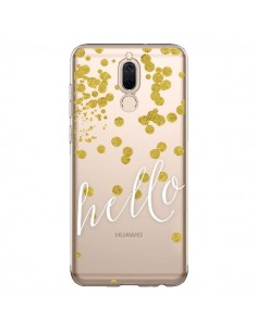 Coque Huawei Mate 10 Lite Hello, Bonjour Transparente - Sylvia Cook