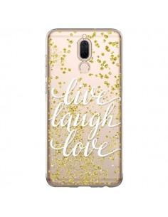 Coque Huawei Mate 10 Lite Live, Laugh, Love, Vie, Ris, Aime Transparente - Sylvia Cook