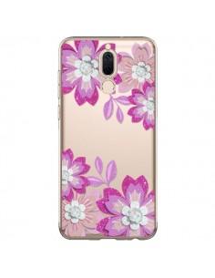 Coque Huawei Mate 10 Lite Winter Flower Rose, Fleurs d'Hiver Transparente - Sylvia Cook
