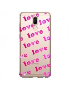 Coque Huawei Mate 10 Lite Pink Love Rose Transparente - Sylvia Cook