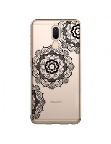 Coque Huawei Mate 10 Lite Triple Mandala Noir Black Transparente - Sylvia Cook