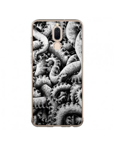 coque telephone huawei p9 pieuvre