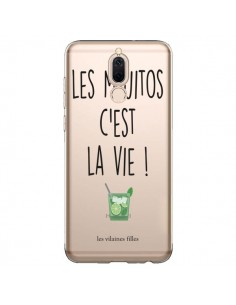 Coque Huawei Mate 10 Lite Les Mojitos, c'est la vie Transparente - Les Vilaines Filles