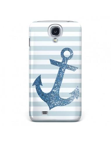 Coque Ancre Bleu Navire pour Samsung Galaxy S4 - Monica Martinez